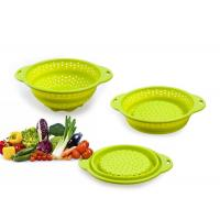 Quality Colorful Folding 100% Eco-friendly fruit / vegetable silicone fruit basket for sale
