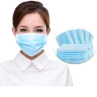 Buy cheap Breathable 3 Ply Disposable Mask High Filtration Capacity With Elastic Earloop product