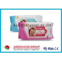 Buy cheap Baby Wet Tissue Wipes / Individual Flushable Moist Wipes for Travel from Wholesalers
