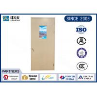 Grade C Pipeline Self Closing Fire Door For Strong And Weak Electric Rooms