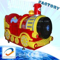 Buy cheap coin operated kiddie modern amusement park train rides Bubbles Train from wholesalers