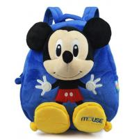 Top quality Blue Personalised Mickey Mouse Backpack For Toddler ,  Eco Friendly for sale
