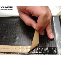 Buy cheap Waterproof double sided butyl rubber sealing tape black or gray color adhesive available from wholesalers