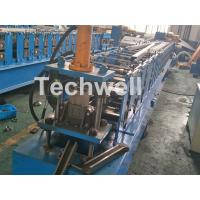 Buy cheap C Purlin Cold Rolling Forming Machine / Cold Rolled Lipped Purlin Channel Machine For 0-15m/min from wholesalers