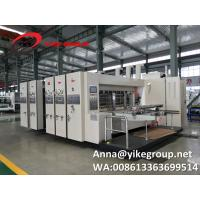 Buy cheap YKHS-1224 Flexo Printer Slotter Machine High Speed And Low Noise from wholesalers