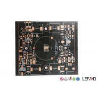 Buy cheap 1 Layer / Double Layer Round PCB Board , Led Lights Copper Circuit Board product