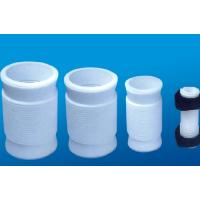 Buy cheap White PTFE tube , 2.10g/cm³ PTFE Soft Joint / PTFE Material For Metal Tube from wholesalers