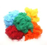 Buy cheap 1.5D Recycled Polyester Fiberfill , Conjugated Polyester Fiber Good Flexibility from wholesalers