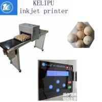 High Output Egg Marking Equipment To Print Serial Number / Effective Date