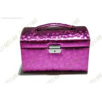 Buy cheap Luxury Cardboard PU Leather Jewelry Boxes With Mirror For Gift Packing from wholesalers