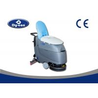 Buy cheap Iron Handle Push Commercial Ceramic Tile Floor Cleaning Machine Brush Assisted Driving from wholesalers