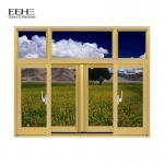 Buy cheap Champagne Aluminium Section Sliding Window / Office Aluminium Sash Windows from wholesalers