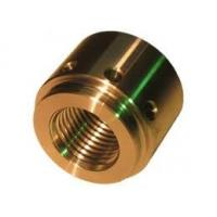 Buy cheap ASTM / AISI / BS CNC Machined Parts , Copper / Brass End Cap Small CNC Lathe Machining from wholesalers