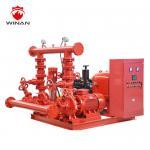Buy cheap Split Case  Diesel Fire Pump Package Fire Fighting Water Pump NFPA Standard from wholesalers
