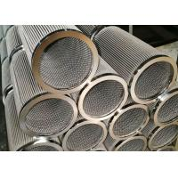 Buy cheap Cylindrical Sintered Metal Fiber Felt , Sintered Stainless Steel Filter Elements from wholesalers