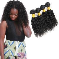 Buy cheap Light Brown Water Wave Crochet Hair / 100 Water Wave Weave Human Hair from wholesalers