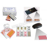 Buy cheap A /30 Turkish Paper Marked Poker Cards Invisible Poker With Sides Bar Codes Scanned from wholesalers