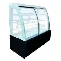 Buy cheap European Style Cake Display Freezer / Refrigerated Bakery Display Case from wholesalers