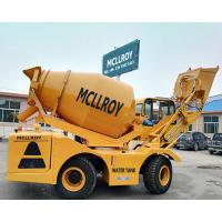 Buy cheap 3.5 Cubic Meters Self Propelled Concrete Mixer Drum Volume 5550 Liters from wholesalers