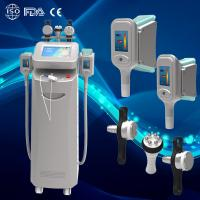Buy cheap Professional Medical Fat Freeze Ultrasound Machine/ Vacuum Multipolar RF Slimming Device from wholesalers