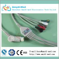 Buy cheap Philips ecg cable and leadwires, round 12 pins product