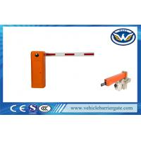 Buy cheap Electric Vehicle LED Light Rubber Automatic Parking Lot Barrier Gates With Arm Auto Reverse from wholesalers