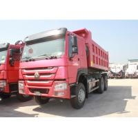 Buy cheap 371HP Engine Three Axle Dump Truck 10 Wheels LHD / RHD Steering 12.00R20 Tire from wholesalers