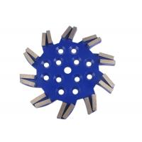 Buy cheap Cyclone type Soft / Medium / Hard Bond Diamond Grinding Plate Concrete Grinding Tools from wholesalers
