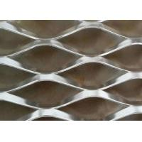 Buy cheap Aluminium Expanded Steel Diamond Mesh For Construction Building Material from wholesalers
