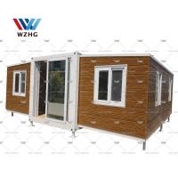 Buy cheap Australian Standard prefabricated expandable container house price with bathroom product