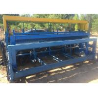 Buy cheap High Efficient Crimped Wire Mesh Machine 2.5 M Width For Wire Screen product
