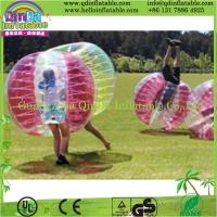 Buy cheap Durable Inflatable Bumper Ball / Body Zorb Ball for Football Games from wholesalers