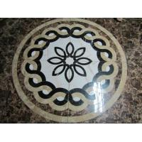 Buy cheap 60x60 cm China natural Marble water jet Pattern for floor,Home And Hotel Decorative Marble Water Jet Patterns Price from wholesalers