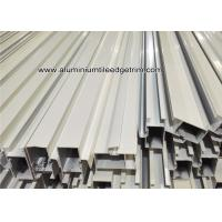 Buy cheap Powder Coating White Aluminum Door Frame Extrusions / Sections / Profiles / Panels from wholesalers