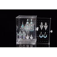 Buy cheap Transparent  Acrylic Jewelry Display Acrylic Jewelry Holder Customized Size from wholesalers