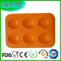 Buy cheap Shell Shape 6 Holes Silicone Cake Baking Mold Cake Pan Muffin Cups Handmade Soap Mould from wholesalers