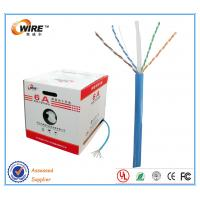 Buy cheap 500MHz 1000ft Bulk CAT6A Ethernet Cable , PE Cross Cat6a Outdoor Cable from wholesalers