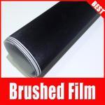 Buy cheap TSAUTOP Rohs Certificate 1.52*30m Air Release black Brushed Aluminium Car Vinyl Wrap Film from wholesalers
