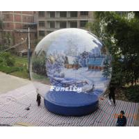 Buy cheap PVC Dome Inflatable Snow Globe from wholesalers