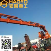 Buy cheap 1T/19M,5T/22M,Foldable Knuckle Boom Cranes for sale and can be customized from wholesalers