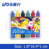 Buy cheap Multicolor Art Water Soluble Crayons With Rotational Structure Rainbow Crayons from wholesalers