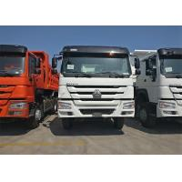 336HP Heavy Dump Truck ZF Driving Steering 6x4 Driving Type Euro 2 Emission