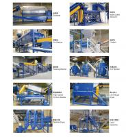 Buy cheap 2000kg/h PET bottle hot washing line/pet bottles and flakes recycling line from wholesalers