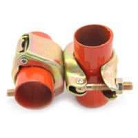Buy cheap JIS Type Scaffolding Coupler Pressed Punched Double Fixed Coupler KS Type Coupler from wholesalers
