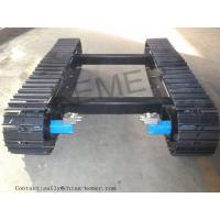 Buy cheap Crawler Tracks Steel Track Undercarriage, Coal Drill Crawler Chassis, Anchor Drill Crawler Undercarriage from wholesalers