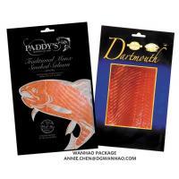 Buy cheap 3 Side Sealing Custom Printed Frozen Clear Laminating Vacuum Sea Food Packaging from wholesalers