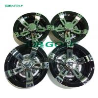 China Electric And Gas Golf Cart Parts Sport Wheel Cover Customized Color on sale