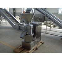 Buy cheap Industrial Tri Stage Peanut Butter Grinding Machine / Almond Butter Grinder from wholesalers