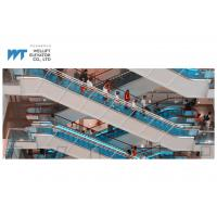 Buy cheap 1000mm and 800mm width shopping mall escalator adopts skirt panel illumination adds charm to the running escalator from wholesalers