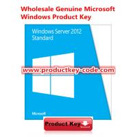 Buy cheap FPP Key Windows Server 2012 Standard, Windows Server Product Key Code Download from wholesalers